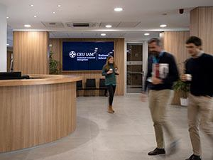 Rececpción CEU IAM Business School